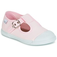 Shoes Girl Flat shoes Citrouille et Compagnie RISETTE JANE Pink