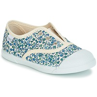 Shoes Girl Low top trainers Citrouille et Compagnie RIVIALELLE Blue / Multicolour