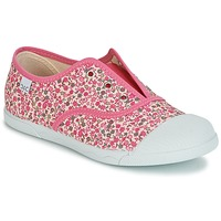 Shoes Girl Low top trainers Citrouille et Compagnie RIVIALELLE Pink / Multicoloured