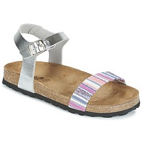Shoes Girl Sandals Citrouille et Compagnie IGUANA Silver