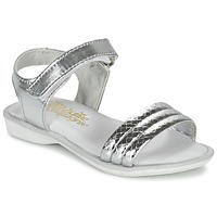 Shoes Girl Sandals Citrouille et Compagnie GOSAGOLA Silver