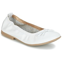 Shoes Girl Flat shoes Citrouille et Compagnie JAPPALIE MOCA White