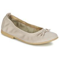 Shoes Girl Flat shoes Citrouille et Compagnie JAPPALIE MOCA Cream