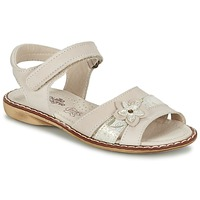 Shoes Girl Sandals Citrouille et Compagnie ANDALIA BEIGE