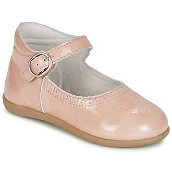 Shoes Girl Flat shoes Citrouille et Compagnie BOUJBOUJ Pink