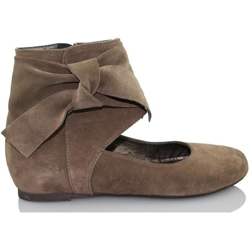 Shoes Women Flat shoes Paco Herrero TUCSON BROWN