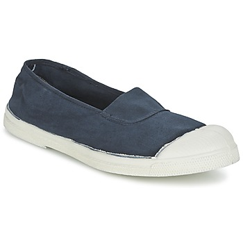 Shoes Women Flat shoes Bensimon TENNIS ELASTIQUE MARINE