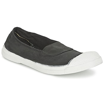 Shoes Women Flat shoes Bensimon TENNIS ELASTIQUE CARBON