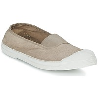 Shoes Women Flat shoes Bensimon TENNIS ELASTIQUE BEIGE