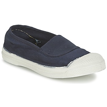 Shoes Children Flat shoes Bensimon TENNIS ELASTIQUE Marine