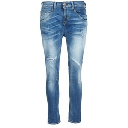 Clothing Women straight jeans Meltin'pot LEIA Blue / Clear