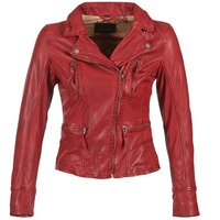 Clothing Women Leather jackets / Imitation leather Oakwood 60861 Red