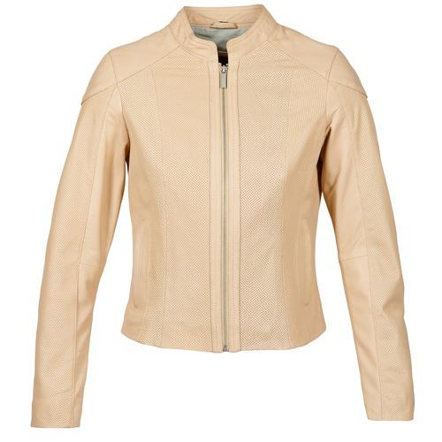 Clothing Women Leather jackets / Imitation leather Oakwood 61848 Beige / Nude