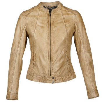 Clothing Women Leather jackets / Imitation leather Oakwood 61712 Brown