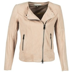 Clothing Women Leather jackets / Imitation leather Oakwood 61903 Pink / Clear