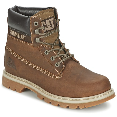 Shoes Men Mid boots Caterpillar COLORADO Brown