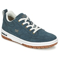 Shoes Men Low top trainers Caterpillar DECADE SUEDE Blue / Night