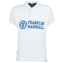 Clothing Men short-sleeved polo shirts Franklin & Marshall AYLEN White