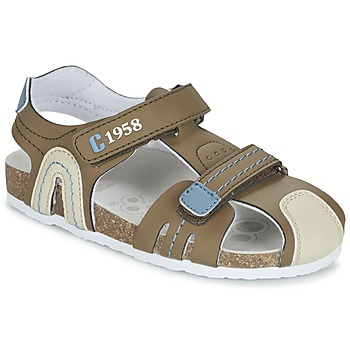 Shoes Boy Sandals Chicco HONEY Brown