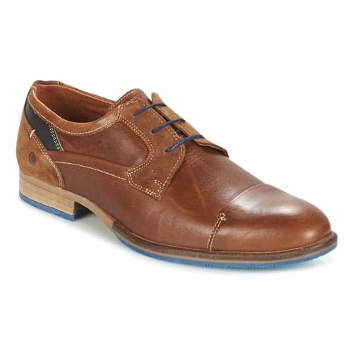 Shoes Men Derby Shoes Carlington ENDRI Camel