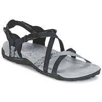 Shoes Women Outdoor sandals Merrell TERRAN LATTICE II Black