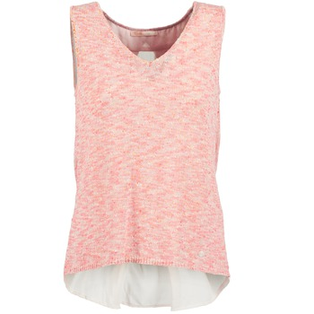 Clothing Women Tops / Sleeveless T-shirts Les P'tites Bombes NODOLA CORAL