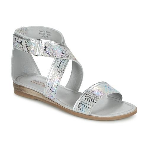 Shoes Girl Sandals Mod'8 JOYCE Silver