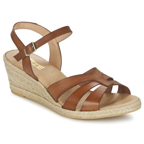 Shoes Women Sandals So Size ELIZA Brown