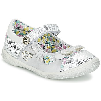 Shoes Girl Flat shoes Catimini COLIBRI Silver