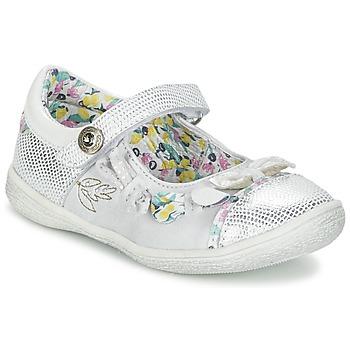 Shoes Girl Flat shoes Catimini COLIBRI Silver