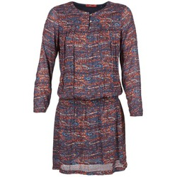 Clothing Women Short Dresses Esprit AGAROZA Marine / Multicoloured