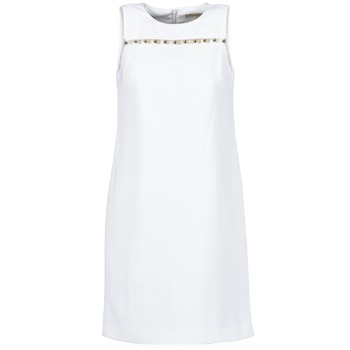 Clothing Women Short Dresses MICHAEL Michael Kors MS68W2L3GZ White
