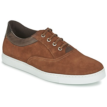 Shoes Men Low top trainers Casual Attitude DIMO Brown