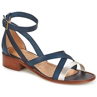 Shoes Women Sandals Casual Attitude COUTIL Blue