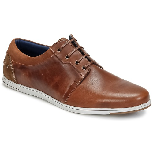 Shoes Men Derby Shoes Casual Attitude COONETTE Camel