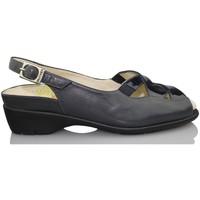 Shoes Women Sandals Drucker Calzapedic orthopedic shoe woman BLUE