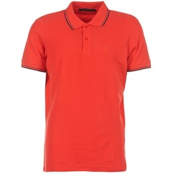Clothing Men short-sleeved polo shirts Best Mountain GULTANE Red