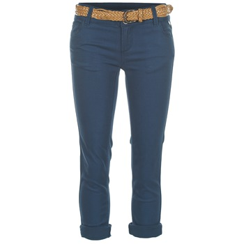 Clothing Women Cropped trousers Best Mountain COULTER Blue