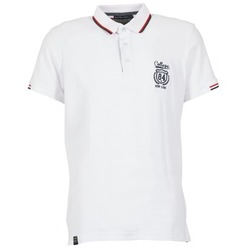 Clothing Men short-sleeved polo shirts Best Mountain CADLY White