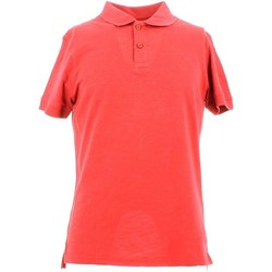 Clothing Men short-sleeved polo shirts City Wear THMU5191 Polo Man Rosso