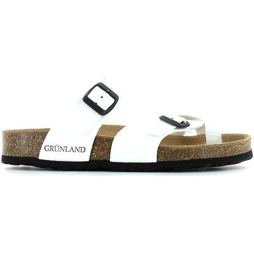 Shoes Women Mules Grunland CB0050 Flip flops Women nd Brown