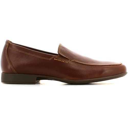 Shoes Men Loafers Himalaya 1064 Mocassins Man Brown Brown