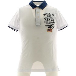 Clothing Men short-sleeved polo shirts Key Up 054S 0001 Polo Man nd nd