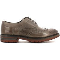 Shoes Men Derby Shoes Keys 3041 Lace-up heels Man Marrone