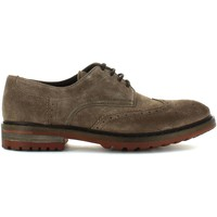 Shoes Men Derby Shoes Keys 3043 Lace-up heels Man Tortora