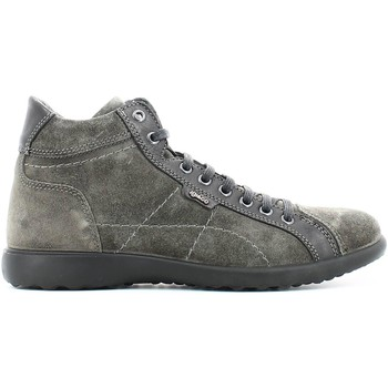 Shoes Men Walking shoes Igi&co 4735 Sneakers Man Anthracite Anthracite