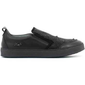Shoes Children Slip ons Liu Jo UB21699 Slip-on Kid Black Black