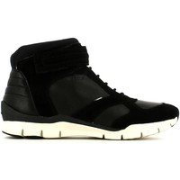 Shoes Women Walking shoes Geox D54F2A 04322 Sneakers Women Black Black