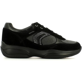 Shoes Women Walking shoes Geox D54W1A 022AS Sneakers Women Black Black