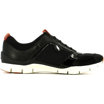 Shoes Women Walking shoes Geox D52F2B 01443 Sneakers Women Black Black